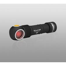 Налобный фонарь Armytek Wizard WR Magnet USB + 18650 3200 mAh / Белый-красный свет