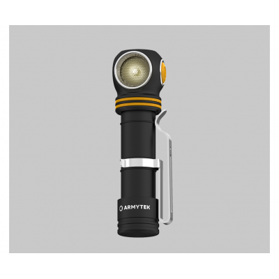 Налобный фонарь Armytek Elf C2 v2 USB + 18650 3200 mAh (WARM)