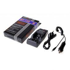 Зарядное устройство 2*18650, Ultrafire, автоадаптер